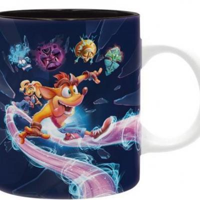 Crash bandicoot it s about time mug 320ml