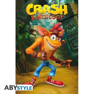 Crash bandicoot poster 91x61cm