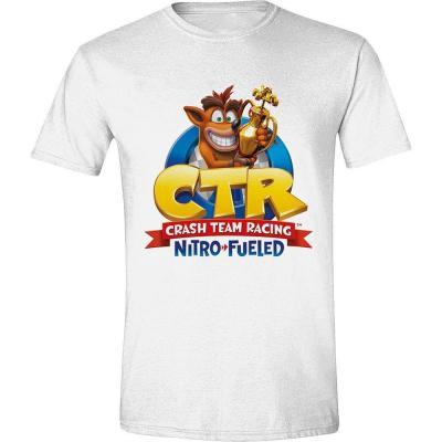 Crash team racing t shirt nitro fueled logo
