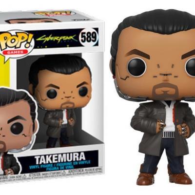 Cyberpunk 2077 bobble head pop n 589 takemura