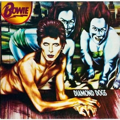 David bowie album 33t diamond dogs france