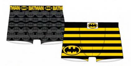 Dc comics 2 pack boxer short batman s