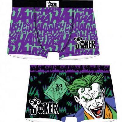 Dc comics 2 pack boxer short joker s