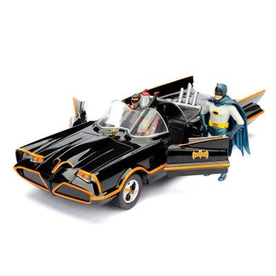 Dc comics batman 1966 batmobile figure metal die cast 1 24eme 1