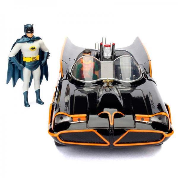 Dc comics batman 1966 batmobile figure metal die cast 1 24eme 2