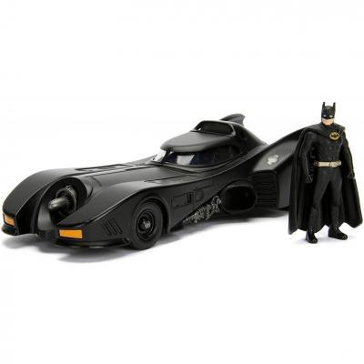 Dc comics batman 1989 batmobile 1 24 1