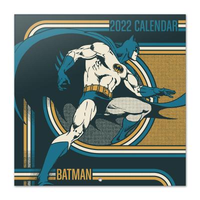 Dc comics batman calendrier 2022 30x30cm 1