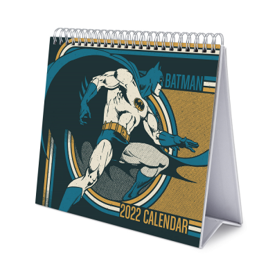 Dc comics batman calendrier de bureau 2022 17x20cm