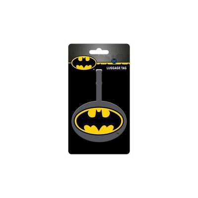 Dc comics batman etiquette de bagage 10x18