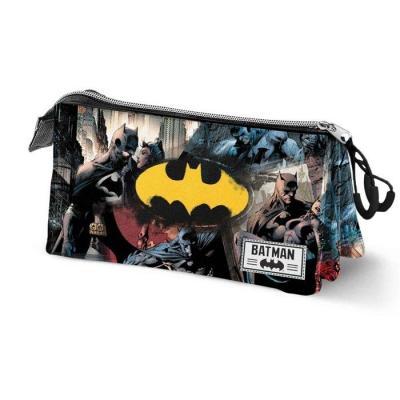 Dc comics batman trousse triple 23x10x5cm