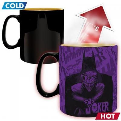 Dc comics batman vs joker mug thermoreactif 460 ml