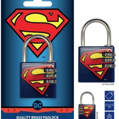 Dc comics cadenas avec code superman