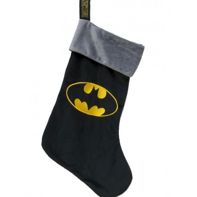 Dc comics chaussette de noel 47x30cm batman