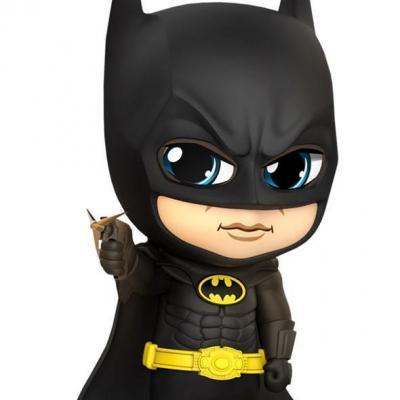Dc comics cosbaby batman 1989 grappling gun figurine 12cm