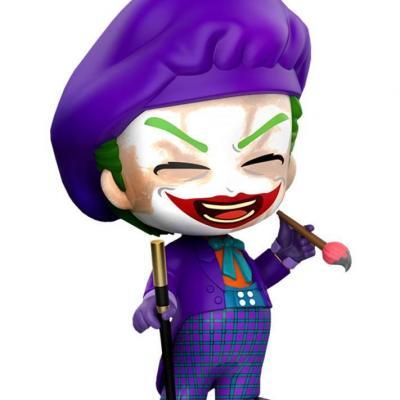 Dc comics cosbaby joker 1989 laughing figurine 12cm