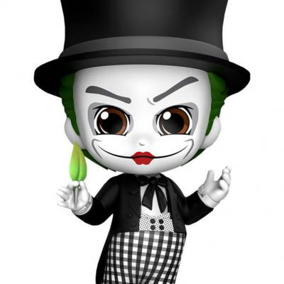 Dc comics cosbaby joker 1989 mime figurine 12cm