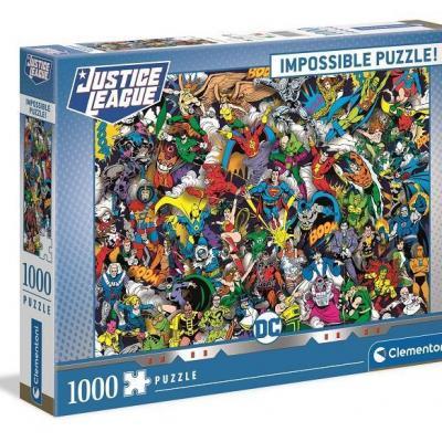 Dc comics impossible puzzle 1000p