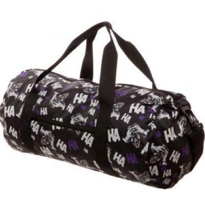 Dc comics joker packable duffle bag