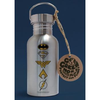 Dc comics logos bouteille en aluminium 500ml