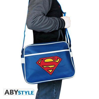 Dc comics messenger bag vinyl superman