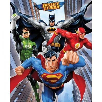 Dc comics mini poster 40x50 rise