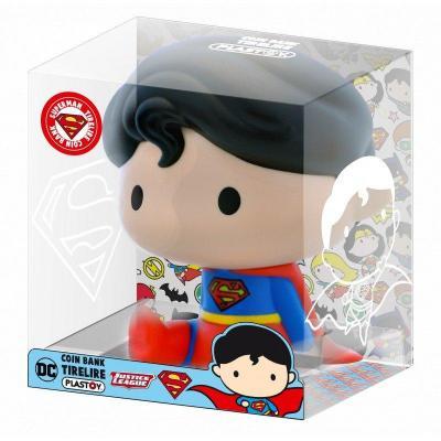 Dc comics mini tirelire chibi superman 13cm