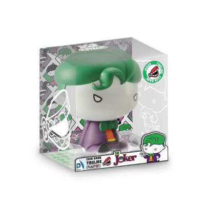 Dc comics mini tirelire chibi the joker 17cm