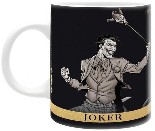 Dc comics mug 320 ml joker vs batman 80th anniversary subli 1