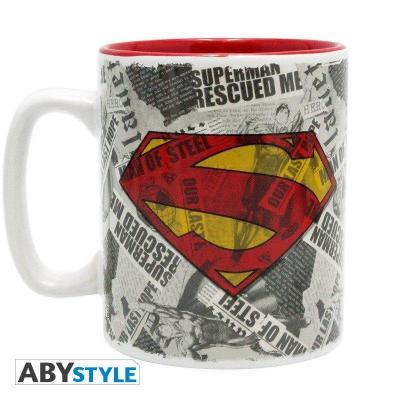 Dc comics mug 460 ml superman logo
