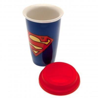 Dc comics mug de voyage 340 ml superman