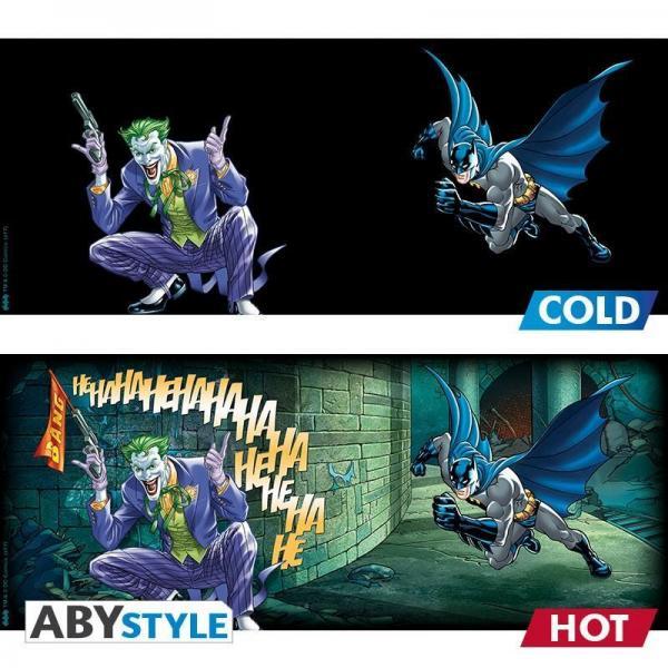 Dc comics mug thermoreactif 460 ml batman and joker 2
