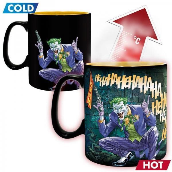 Dc comics mug thermoreactif 460 ml batman and joker