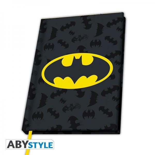 Dc comics notebook a5 logo batman