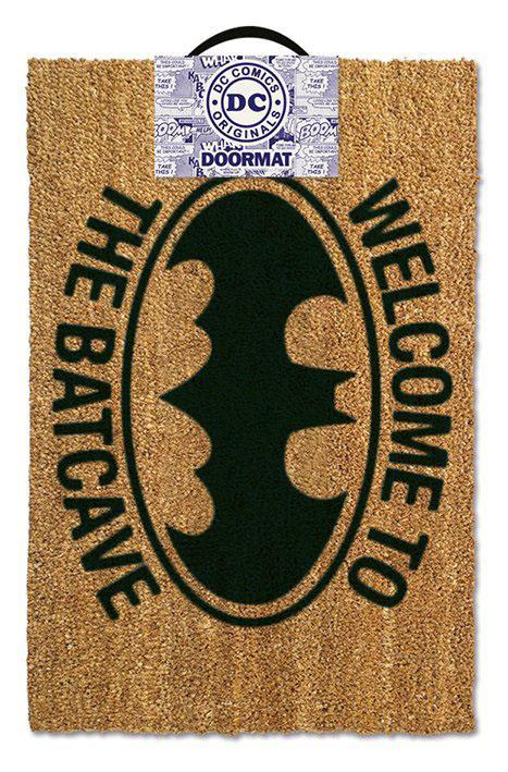 Dc comics paillasson 40x60 welcome to the batcave