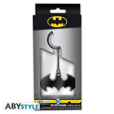Dc comics porte cles metal 3d batarang