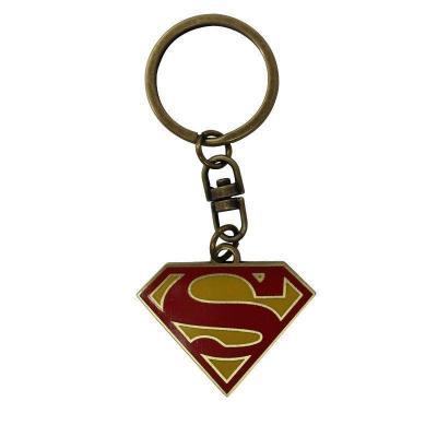 Dc comics porte cles metal superman logo