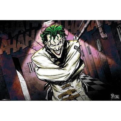 Dc comics poster 61x91 joker asylum