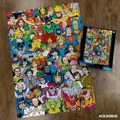 Dc comics retro cast puzzle 1000p