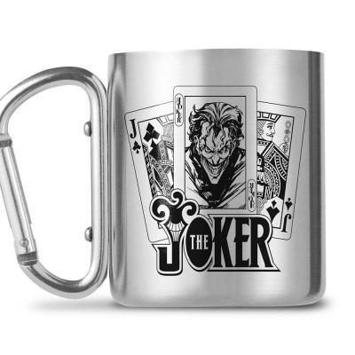Dc comics the joker mug mousqueton 240ml