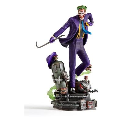 Dc comics the joker statuette deluxe art scale 23x13x12cm