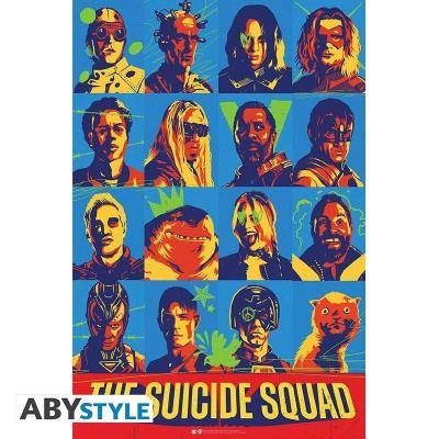 Dc comics the suicide squad poster 91x61cm