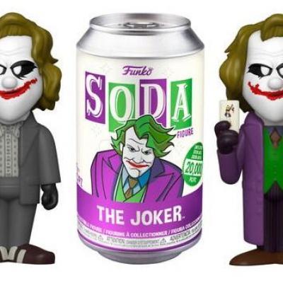 Dc comics vinyl soda heath ledger joker w chase