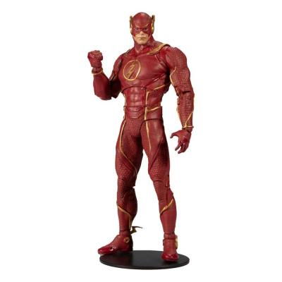 Dc multriverse flash injustice 2 figurine articulee 18cm