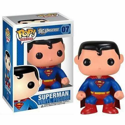 Dc universe bobble head pop n 07 superman