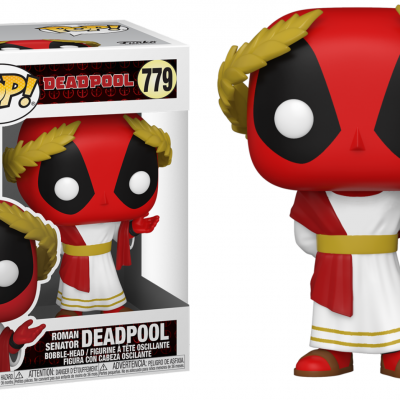 Deadpool 30th bobble head pop n 779 roman senator deadpool