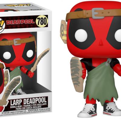 Deadpool 30th bobble head pop n 780 l a r p deadpool