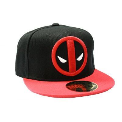 Deadpool casquette marvel deadpool logo