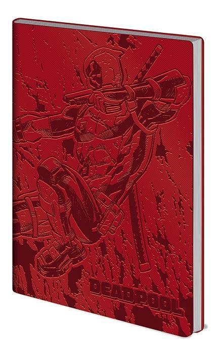 Deadpool flexi cover notebook a5 action