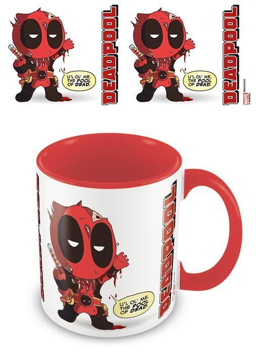 Deadpool from awesome to gruesome mug interieur colore 315ml
