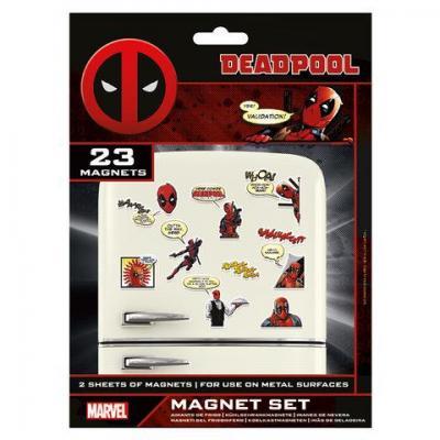 Deadpool magnet set comic 1